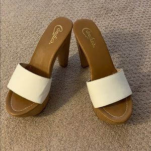 Candies White Dress Free Shoes